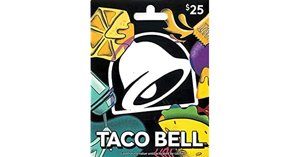 Amazon.com: Taco Bell - Tarjeta de regalo: Tarjetas de regalo