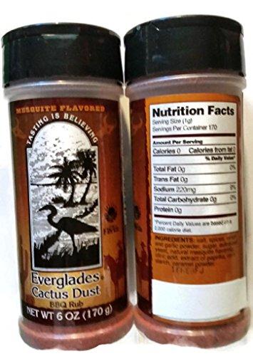 (Everglades Seasoning Cactus Dust, 6 Ounce)