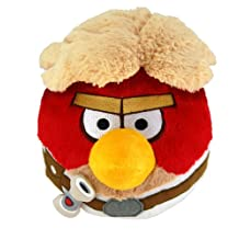 Commonwealth Toy 8-Inch Angry Birds Luke Skywalker Plush