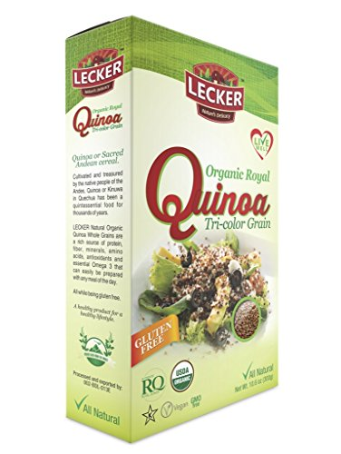 lecker-organic-royal-quinoa-tri-color-grain-pack-of-7