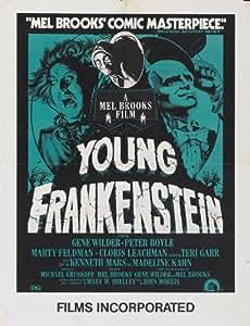 Amazon.com: Young Frankenstein 27x40 Movie Poster (1974