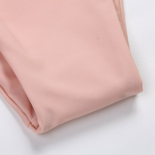Push Costumi Pink Mare Italily Solido Pezzi Da Sexy Up Brasiliano Due Swimwear Costume Donna Imbottito Bikini Bottom Bagno Halter Uq8wqgaIn