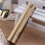 Aomai Slim Metal Jet Torch Flame Lighter Grinding