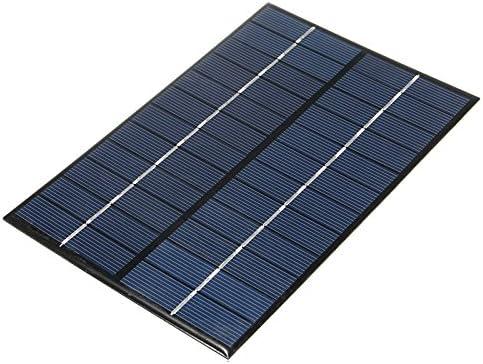 REFURBISHHOUSE 12V 4,2 Watt Polykristallines Silizium Solar Panel Tragbare Solarzellen Ladeger?t Diy Solarmodul System 200 X 130 X 3Mm