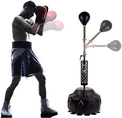 FREE STANDING STRIKE BAG REFLEX PUNCH BALL SPEED BALL KICK BOXING TRAINING GYM
