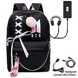AliKpop USB BTS Backpack Jimin Suga Jin Taehyung V