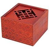 bits and pieces - the emperor's secret puzzle box - wooden brainteaser - secret compartment brain