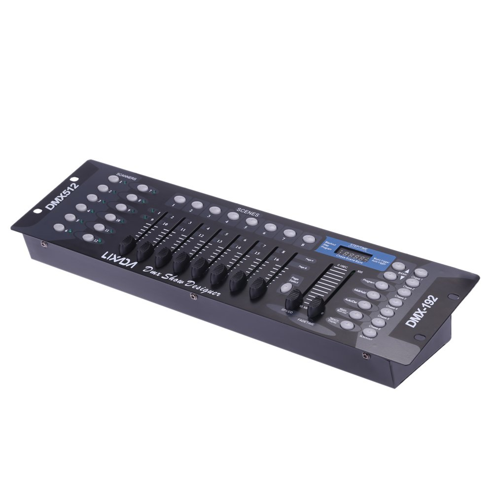Top 10 Best DJ Light Controllers Reviews 2018-2019 - cover
