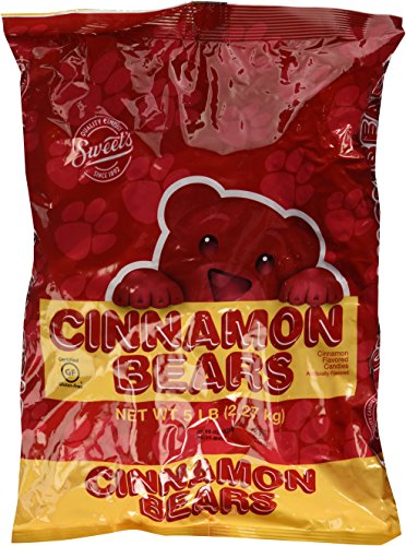 Sweet's Cinnamon Bears 5 Lb Bag