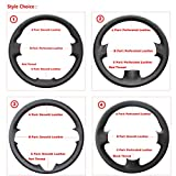 the name of the steering wheel on - Ablee Loncky Microfiber Leather Car Steering Wheel Cover for 2010-2013 Mazda 3/2011 2012 2013 Mazda 6/2012 2013 2014 2015 Mazda 5/2011-2013 Mazda CX-7/2010-2015 Mazda CX-9 Accessories