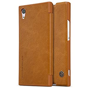 Sony Xperia XA1 Case , Nillkin Ultra Slim Thin Lightweight PU Leather Slim Fit Cover with One Card Holder Flip Case