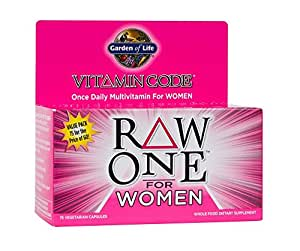 Garden of life multivitamin for women vitamin code raw one whole food vitamin for Garden of life vitamin code prenatal