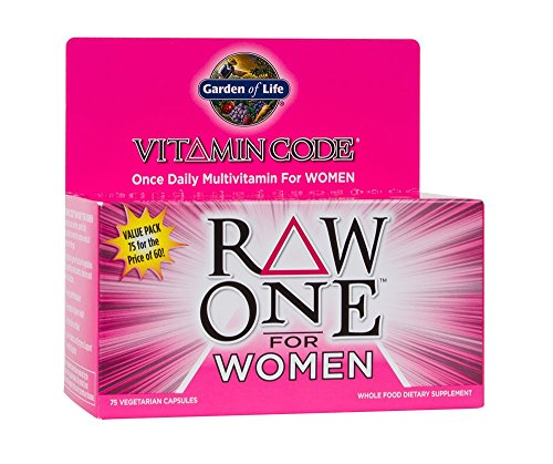 Garden of Life Vegetarian Multivitamin Supplement for Women - Women Organic Vitamins