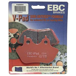 EBC Brakes FA400V Semi Sintered Disc Brake Pad