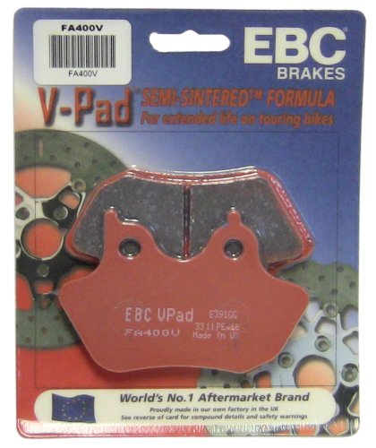 EBC Brakes FA400V Semi Sintered Disc Brake Pad (2006 Harley Davidson Road King Custom For Sale)