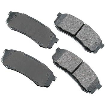 Akebono ACT606 ProACT Ultra-Premium Ceramic Brake Pad Set