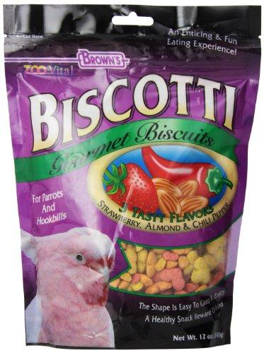 Biscotti Treats (F.M. Brown's Zoo-Vital Biscotti Parrots,)