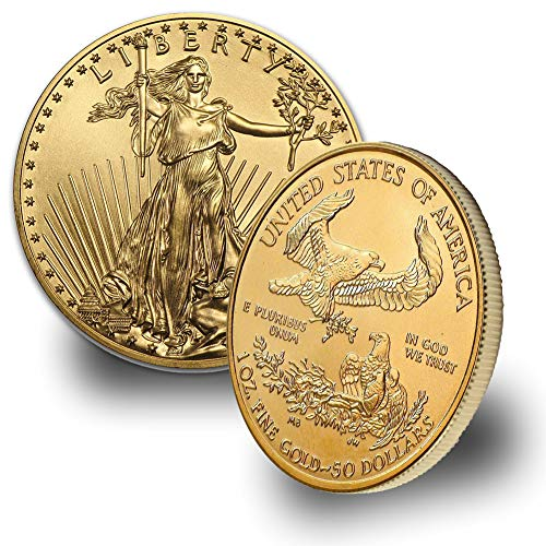 2018-1oz $50 American Gold Eagle Coin $50 Brilliant for sale  Delivered anywhere in USA