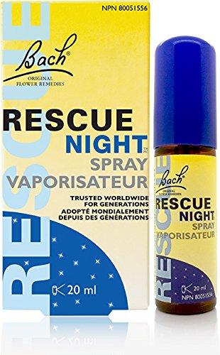 Rescue Sleep Spray - Bach Rescue Night Spray Natural Sleep Aid 20 mL