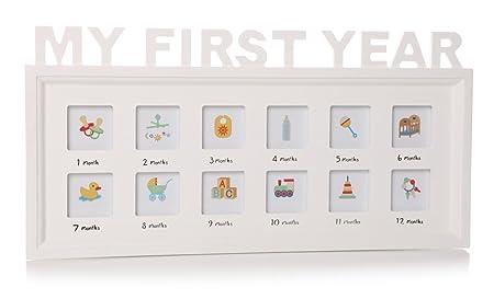 1st year photo frame: Amazon.co.uk: Kitchen & Home