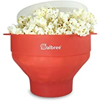The Original Salbree Microwave Popcorn Popper with Lid,...