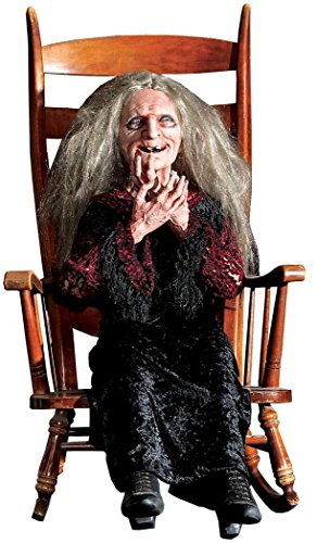 Distortions Unltd Halloween Party Laughing Hag Animated Prop