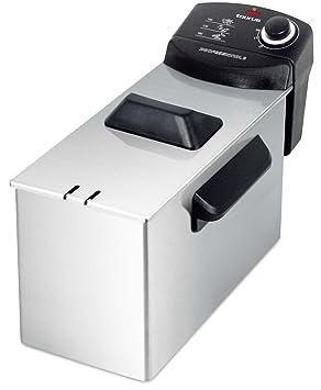 Taurus FREIDORA 3L Professional 3 INOX 2100W, 2100 W, 3 litros, Negro, Acero inoxidable: Amazon.es: Hogar