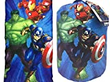 Avengers Kids Marvel Sleeping Bag and Sling Slumber Set