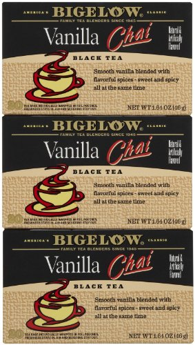 Bigelow Vanilla Chai Tea Bags - 20 ct - 3 (Bigelow Honey)