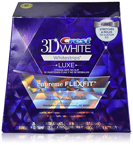Crest 3d White Luxe Whitestrips Supreme Flexfit Teeth Whitening