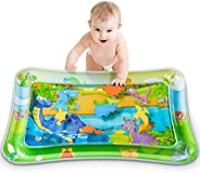 Tummy Time Baby Water Play Mat,Baby Inflatable Water Play Mat Activity Center Toy for Newborn Baby Infant Todd