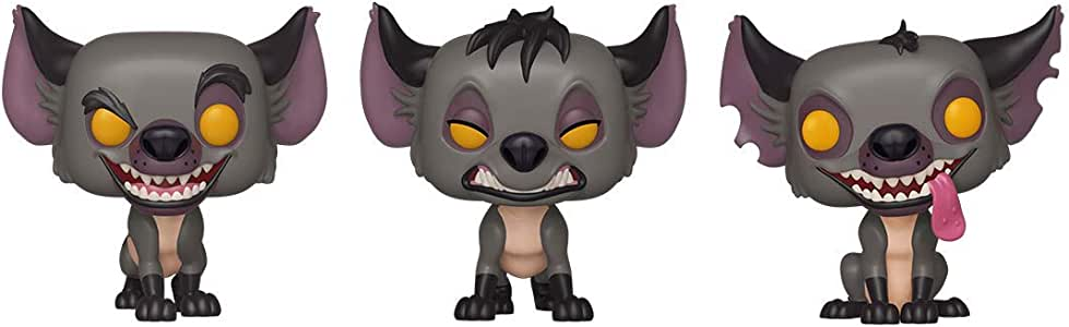 Funko Pop! Disney: Lion King - Hyenas 3 Pack Spring Convention ...