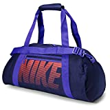 Nike Gym Club Women's Training Duffel Bag (Blue/Orange) For Sale