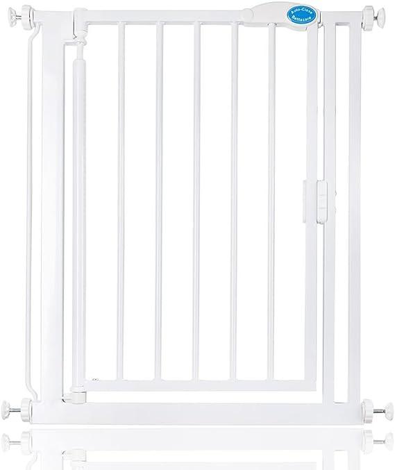 Bettacare - puertecilla de seguridad estrecha para escaleras, garaje etc. - 68,5 - 75,5 cm: Amazon.es: Bebé