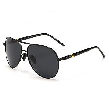 Sonnenbrille Sonnenbrille / Männer Sonnenbrille / Box Polarisierte Sonnenbrille / Metall Fahrer Sonnenbrille ( Farbe : A ) AGzeI