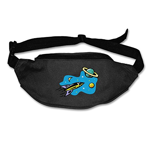 Alone Waist Bag Fanny Pack Science Fiction Unisex Outdoor Sports Pouch Running Belt Fitness Travel Pocket Purse ()