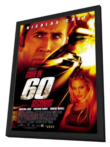 Gone in 60 Seconds - 27 x 40 Framed Movie Poster