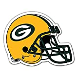 Fremont Die NFL Shop Authentic 12″ Magnet Team Banner Helmet/Logo (Green Bay Packers)