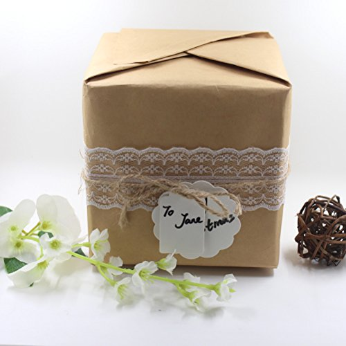 sticro 39.6Yards White Lace Trim Ribbon with 12 Rolls Assorted Patterns Cream Vintage, Decorative Bridal Wedding Lace DIY Making Sewing Accessory Collection