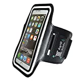 Digital Dukan Sports Armband Case For Android/iOS Phones (Black)