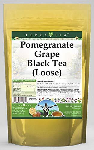 (Pomegranate Grape Black Tea (Loose) (8 oz, ZIN: 540828) - 2 Pack)