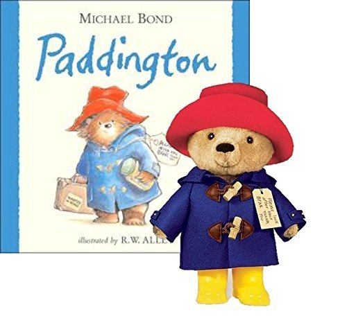 "YOTTOY Paddington Bear Hardback Book & 10"" Plush Set from Yottoy"