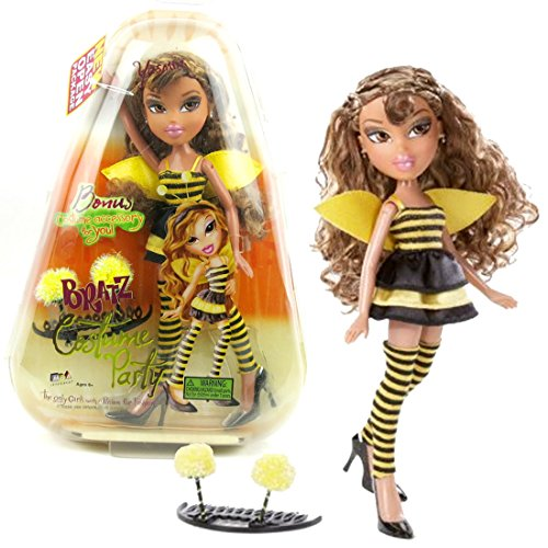 MGA Entertainment Bratz Costume Party Series 10 Inch Doll - YASMIN in Bumblebee Outfit with Earrings and Bonus Costume Accessory for You by Bratz