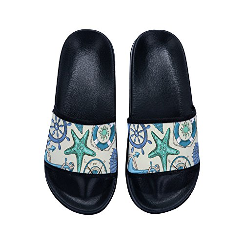 Slippers Secado Sea Zapatillas Negro Mujer World para de Antideslizantes Rápido HnTHqwxr