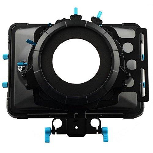 Fotga DP3000 Swing-Away Matte Box Sunshade,Fit 15mm Rail Rod Rig,for Nikon Canon Sony Fujifilm Olympus DSLR Camera,Camcorder Video Movie Film Making System