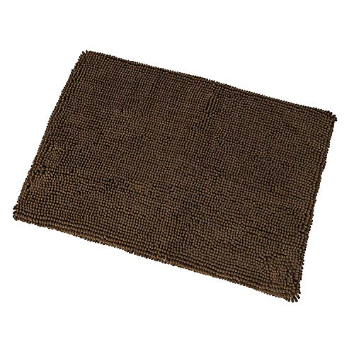 Ethical Pets Clean Paws - Chenille Microfiber Dog Bed & Crate Liner - 37X25 Inches/Attractive, Durable, Super Absorbent, Washable