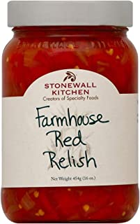 product image for Stonewall Kitchen Farmhouse Red Relish, 16 Ounces