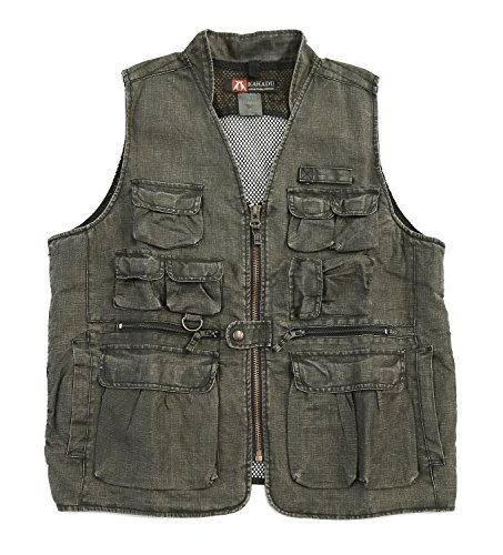 Kakadu Gunn Worn Collection Concelead Carry Gibson Vest with Mesh Back -