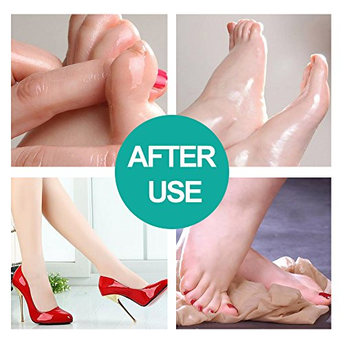 Foot Peel Mask Feet Baby Soft Touch 2 Pack- Phenitech Exfoliating Dead skin Foot Peeling Mask and Callus Reducer Away by Phenitech (Image #5)