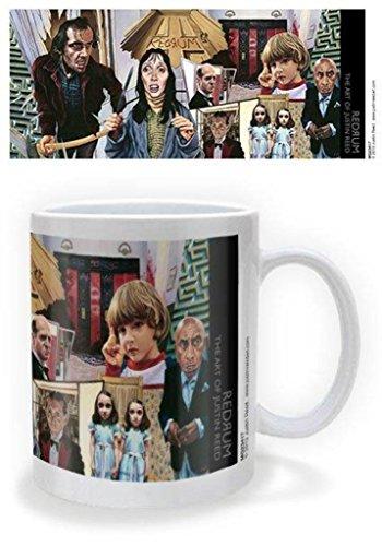 Redrum The Art of Justin Reed Coffee - The Shining Coffee Mug